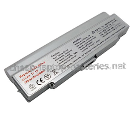 7800mAh Sony Vgp-bps9a/S Laptop Battery