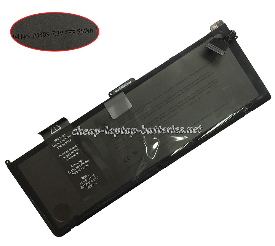 95Wh Apple Macbook Pro 17 Inch Precision Aluminum Unibody (2009 Version) Laptop Battery