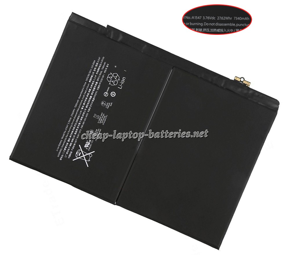 7340mAh/27.62WHr Apple mh322ll/A Laptop Battery