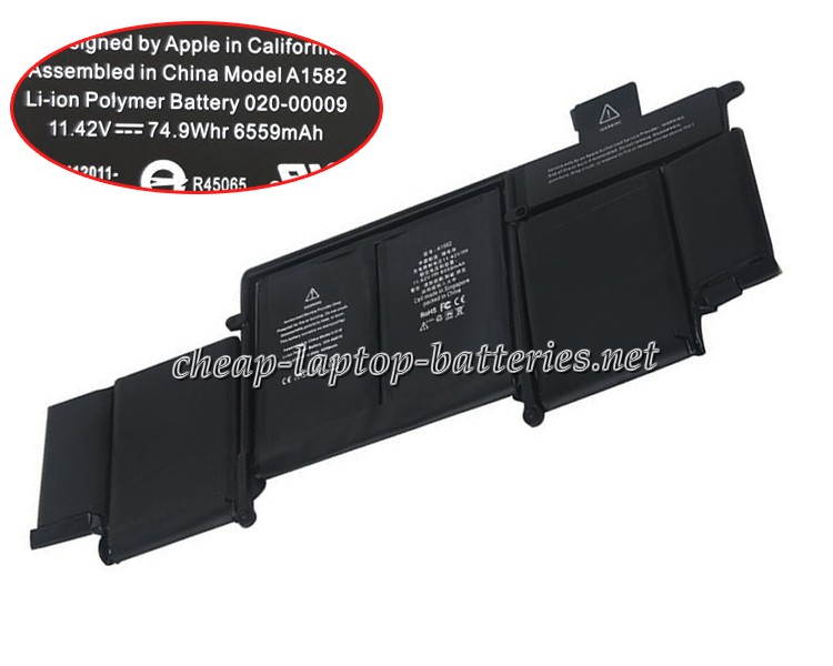 74.9WH/6559mah Apple mf839ll/A Laptop Battery