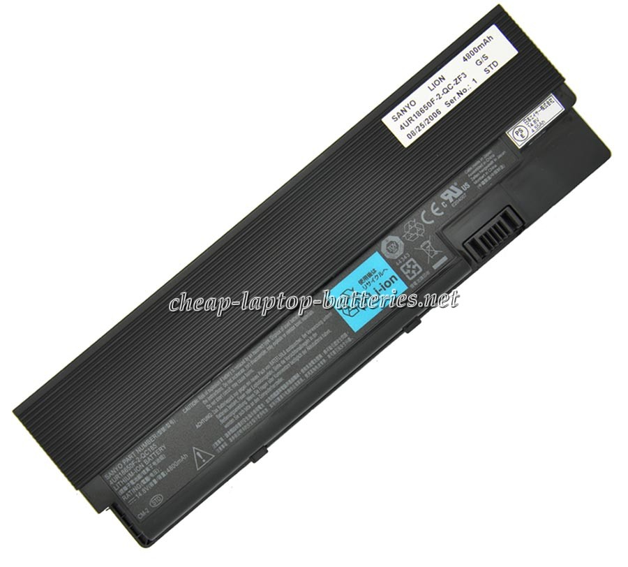 4800mAh Acer Ferrari 4002wlmi Laptop Battery