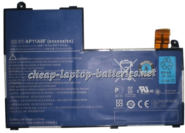 6700mAh Acer ap11a8f Laptop Battery
