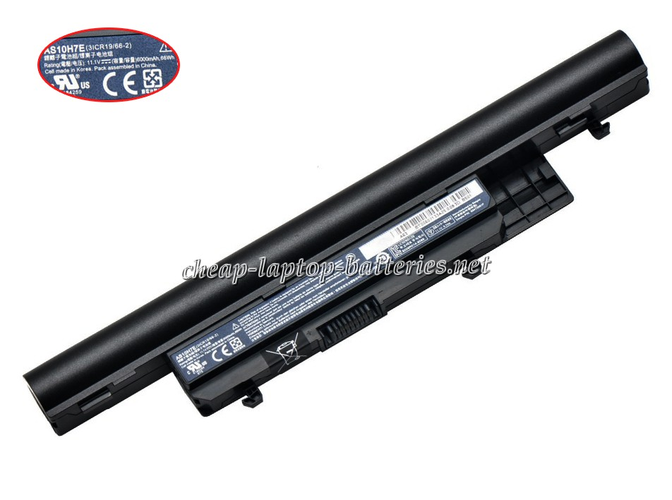 6600mAh Acer Bt.00607.133 Laptop Battery
