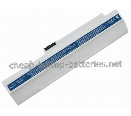 7800mAh Acer a0d250-0bgk Laptop Battery