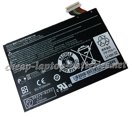 3420mAh Acer 1icp4/68/110 Laptop Battery