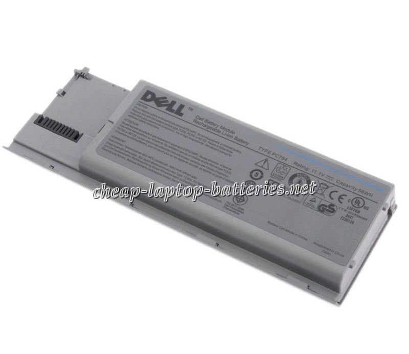 4400 mAh Dell Latitude d630 Laptop Battery