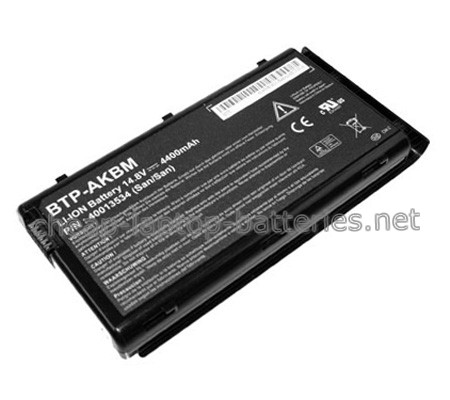 4400mAh Medion md96500 Laptop Battery