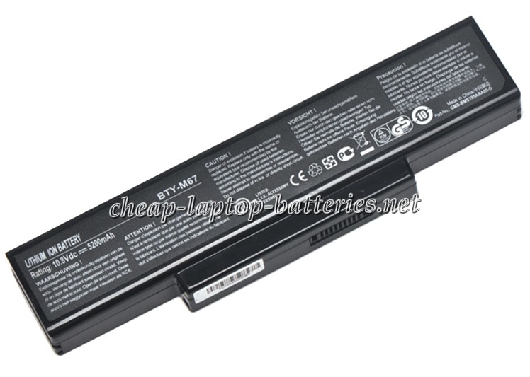 5200mAh Clevo m740sun Laptop Battery