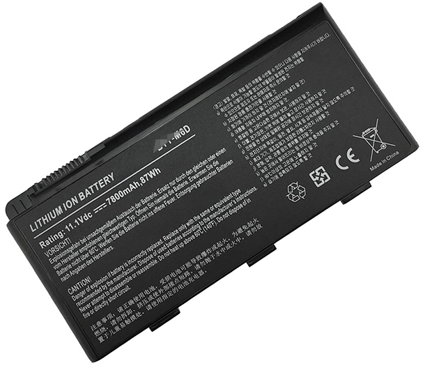7800mAh Medion Erazer x7815 Laptop Battery