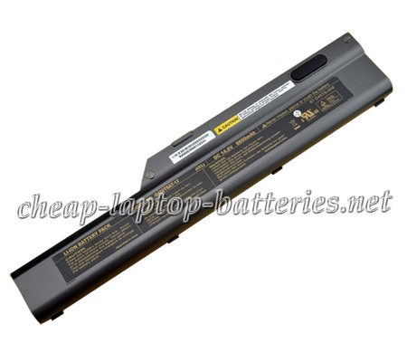 6600mAh Clevo d450tbat-12 Laptop Battery