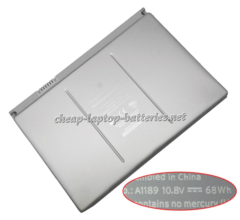 68Wh Apple Macbook Pro 17 Inch ma611kh/A Laptop Battery