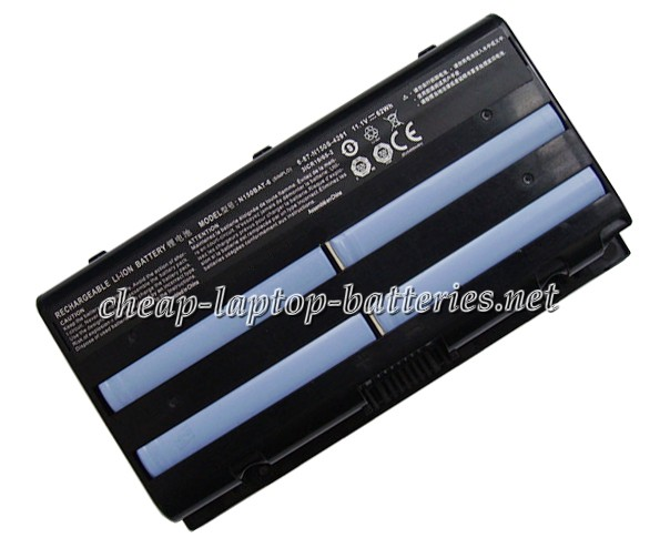 62Wh Clevo 6-87-n150s-4u91 Laptop Battery