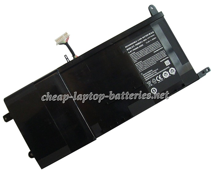 60Wh Clevo p655re3-G Laptop Battery