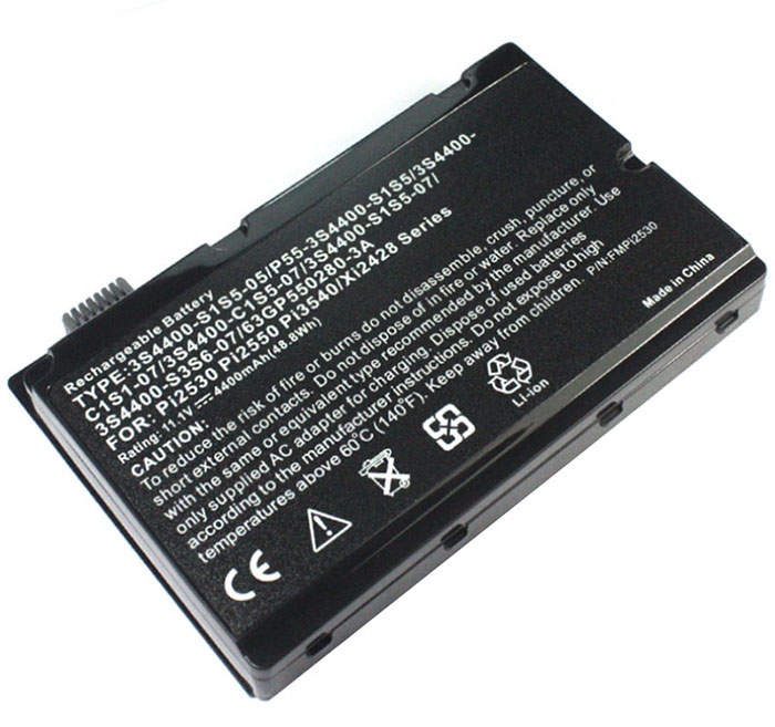 5200mAh Uniwill 3s4400-c1s5-07 Laptop Battery