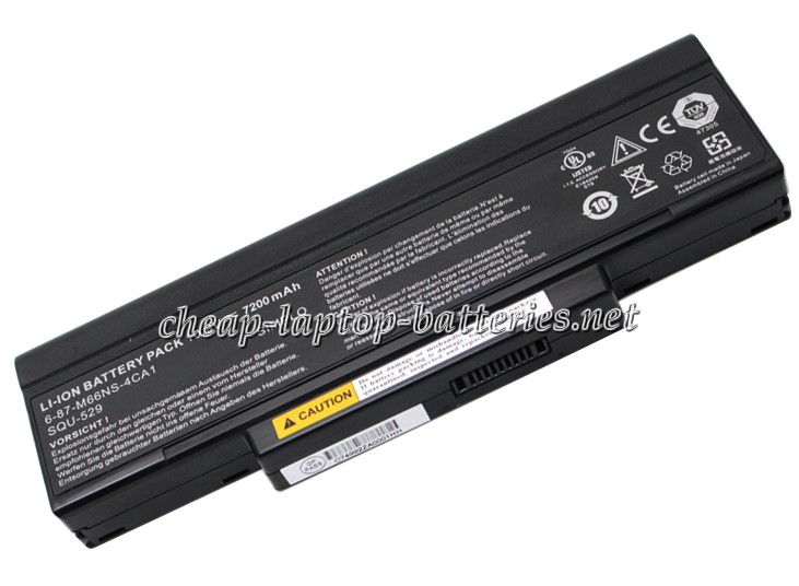 7200mAh Clevo w760 Laptop Battery