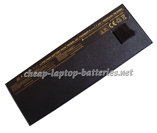 6600mAh Clevo t890bat-4 Laptop Battery
