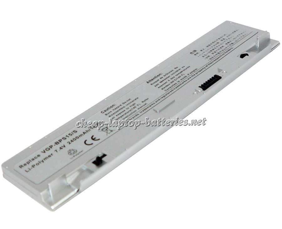 2400 mAh Sony Vgp-bps15 Laptop Battery