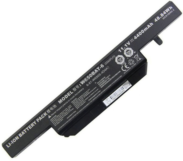 4400mAh Clevo 6-87-w650s-4d7a2 Laptop Battery